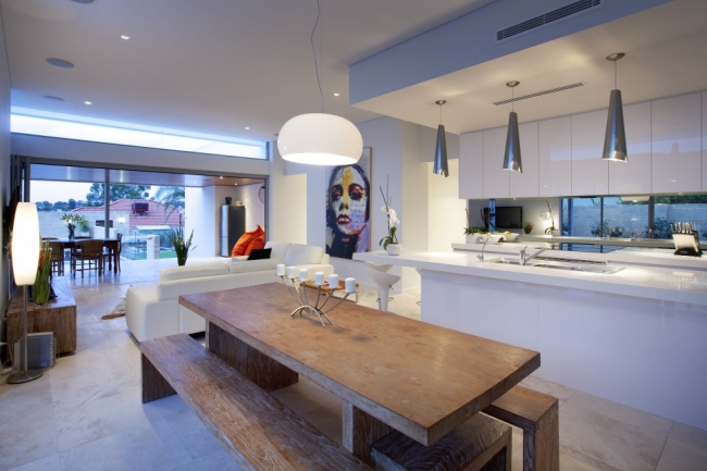 Foyer Plan Kitchen : Obsessed with this contemporary bicton home house nerd