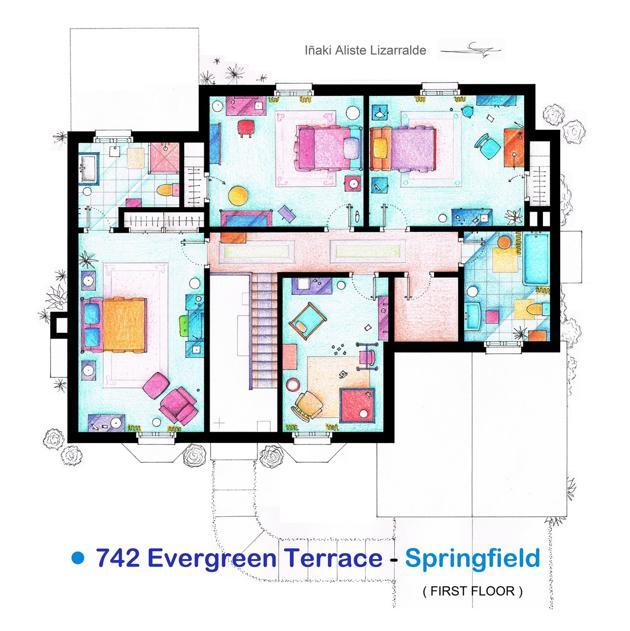 Famous Tv Show Floor Plans | House Nerd
