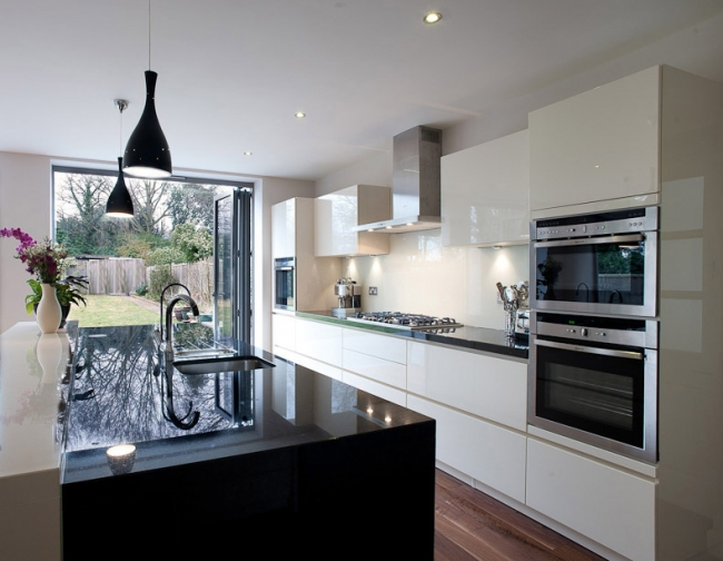 Kitchen Design Advice outdoor kitchen lighting ideas pictures tips amp advice outdoor with regard to outside kitchen designs Above This Is One Of Yasmins Kitchen Renovations This One Done To A Home In Applecross Black And White Contrasting Colours Were Used For A Stylish