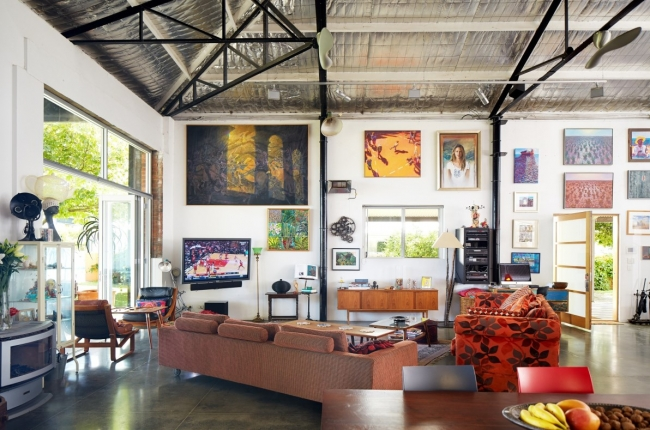 The Warehouse Conversion Home of Luc Longley and Anna Gare House Nerd