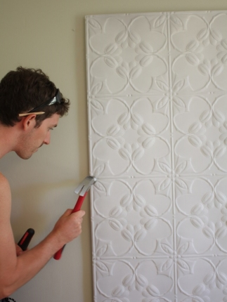 Diy How To Pressed Tin Bedhead And Win A Forty Winks Silent
