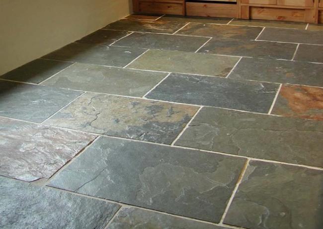 Vinyl Plank Flooring Slate Look